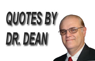 Quotes By Dr. Dean